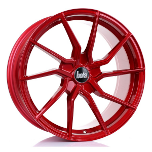 Cerchi in lega Bola  B25  18''  Width 8.5   5X120  ET 25 TO 45  CB 72,6  Candy Red