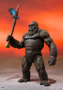 *PREORDER* Godzilla vs Kong 2021 S.H. MonsterArts Action Figure: KONG by Bandai Tamashii