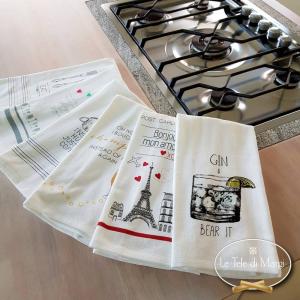 Canovacci cucina spugna Torre Eiffel