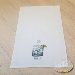 Canovacci cucina spugna Gin tonic