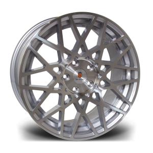 Cerchi in lega  STUTTGART  ST10  18''  Width 8,5   PCD Custom  ET 45  CB 73.1    Silver Polished