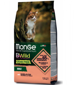 Monge Cat - BWild Grain Free - Adult - 1,5 kg