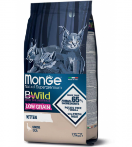 Monge Cat - Bwild Low Grain - Kitten - Oca - 1.5kg