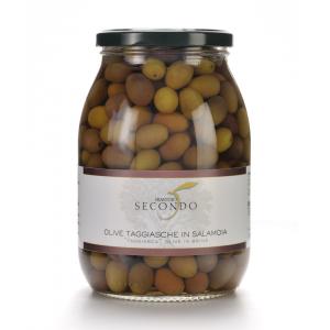 Olive Taggiasche in salamoia | Barattolo da 900gr.