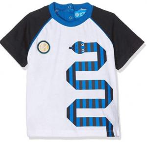 T-Shirt  Inter Neonato Cotone 36 Mesi Ufficiale