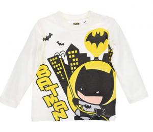 Maglietta Batman neonato 6 - 12 - 18 mesi Primavera 2021