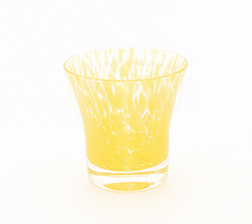 Wasser Glas Padova Korn Gelb (6stck)
