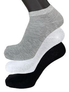 6 Paia di calzini unisex corti sopra la caviglia in cotone FASHION TRADE
