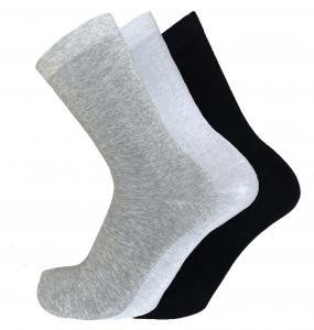 6 Paia di calzini unisex corti a metà polpaccio in cotone FASHION TRADE