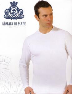 Maglia uomo in cotone manica lunga girocollo ARMATA DI MARE