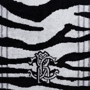 Roberto Cavalli Set 1 + 1 Handtuch und Gast - ZEB schwarz Badetuch