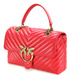 Love Lady Puff V Quilt cl. red PINKO