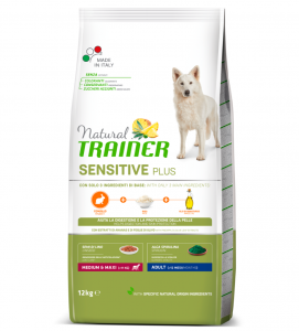 Trainer Natural Sensitive Plus - Medium/Maxi - Adult - Coniglio - 12 kg SCAD. 08/2021