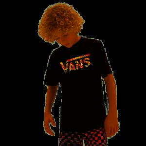 T-Shirt Vans KIDS Classic Logo Black/Flame