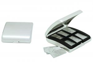 Gioco del domino in silver plated