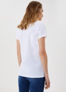 LIU JO JEANS  WA1332J5951 T-shirt con stampa e applicazioni