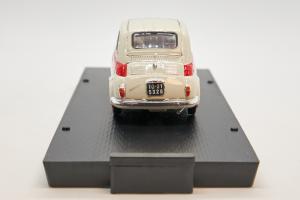 Fiat Nuova 500 Sport Tetto Metallico 1958 1/43 Brumm 100% Made In Italy