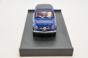 Fiat 500F Chiusa 1971-1972 Blu Oriente Interno Rosso 1/43 Brumm 100% Made In Italy