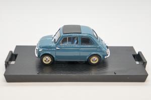 Fiat Nuova 500 1959 Blue 1/43 Brumm 100% Made In Italy