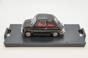 Fiat 500L Chiusa 1968-1972 Marrone 1/43 Brumm 100% Made In Italy