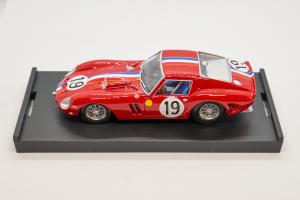 Ferrari 250 Gto 24 HdM 1962 #19 P. Noblet 1/43 Brumm 100% Made In Italy