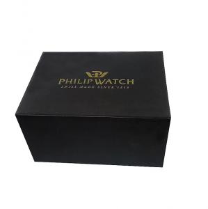 Philip Watch Caribe, Quarzo, ghiera e quadrante nero