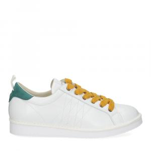 Panchic P01M leather white brightgreen-2