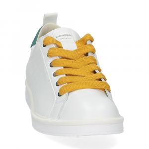 Panchic P01M leather white brightgreen-3