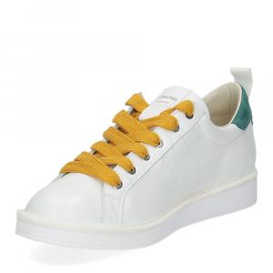 Panchic P01M leather white brightgreen-4
