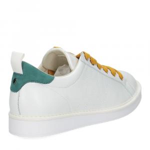 Panchic P01M leather white brightgreen-5