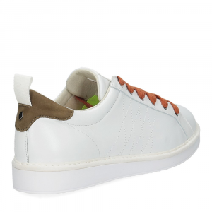 Panchic P01M leather white milatrygreen orange-5