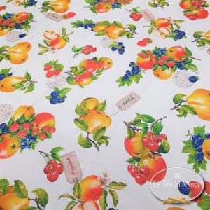 Tovaglia Antimacchia rotonda frutta