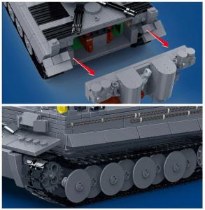 *PREORDER* WW2 Blocks: Panzer VI Tiger I (Panzerkampfwagen VI Tiger I Sd.Kfz. 181)