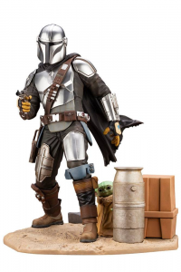 *PREORDER* Star Wars ARTFX - The Mandalorian: THE MANDALORIAN & THE CHILD 1/7  by Kotobukiya