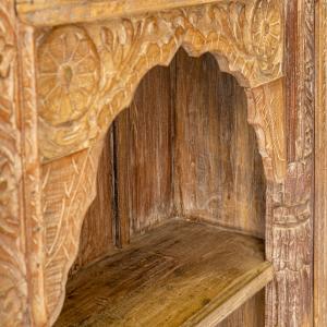 Libreria in legno di teak  recuperato