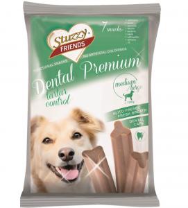 Stuzzy Dog Friends - Dental Premium - Medium/Large - 7 pezzi 210gr
