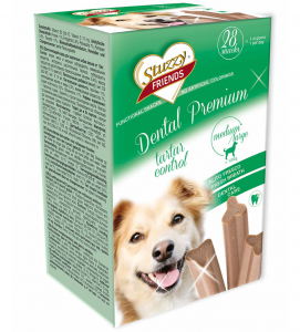 Stuzzy Dog Friends - Dental Premium - Medium/Large - 28 pezzi 4x180gr