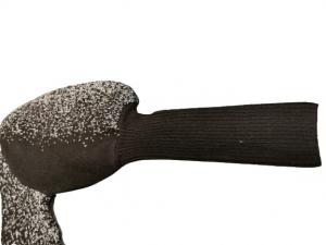 Maglia Maglioncino donna | inserti lurex | colore nero e argento | lana e viscosa |  Made in Italy