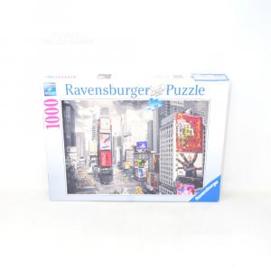 Puzzle Ravensburger 1000 Pezzi Times Square New York Nuovo