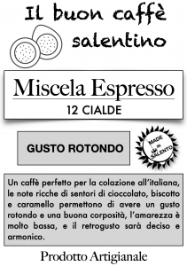 Miscela Espresso - Caffè in cialde compostabili