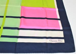 Dior - Foulard seta