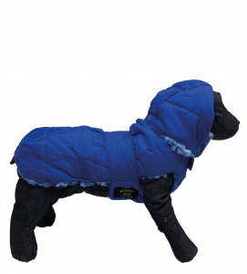 Fashion Dog - Cappotto Impermeabile con Pelliccia