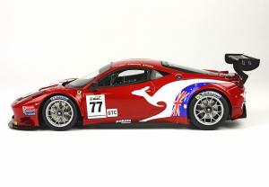 Ferrari 458 Italia GT3 Gt Asia 2013 Rosso Corsa 322 Ltd 100 Pcs 1/18 Bbr