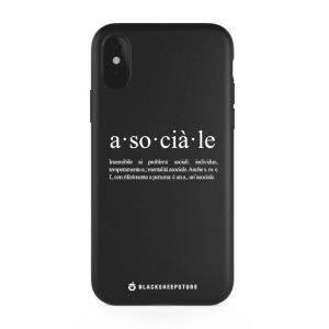 Cover asociale bipolare ribelle per iPhone tutti i modelli | Blacksheep Store