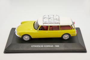 Citroen Ds 19 Break 1960 Yellow 1/43 Solido