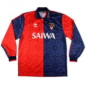 1993-94 Genoa Maglia Match Worn #7 Ruotolo Home XL