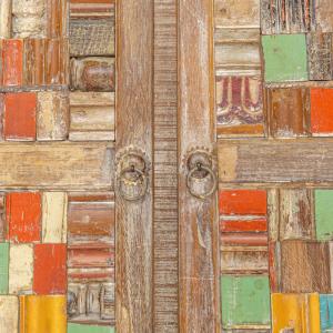 Credenza con ante in legno di teak