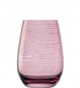 Set 6 bicchieri acqua Tumbler colore lilla Twister ml 465