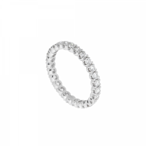 Anello Eternity Diamanti ct.0,50