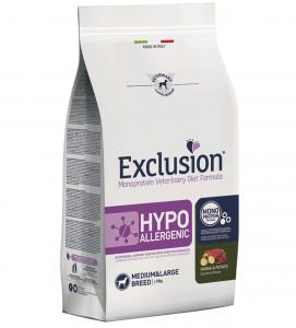 Exclusion - Veterinary Diet Canine - Hypoallergenic - Medium/Large - 12kg